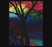 The Rainbow Tree T-Shirt by Sally Green