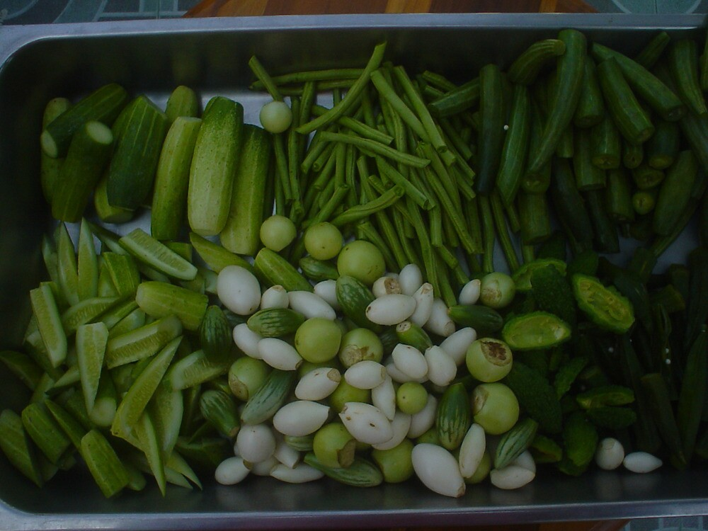 Steamed Thai Vegetables by Hugh Fathers