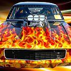 1969 Chevrolet Camero by RichardKlos