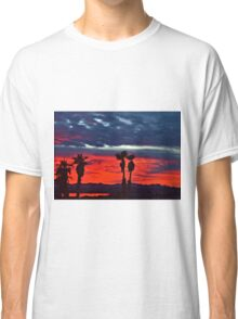 New Year Sunset Classic T-Shirt
