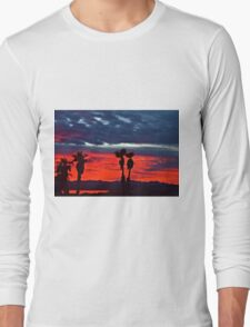 New Year Sunset Long Sleeve T-Shirt