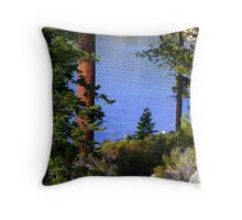 "'Tahoe Inlet"" Throw Pillow"