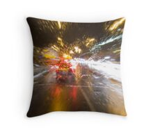 Driving Rain Throw Pillow