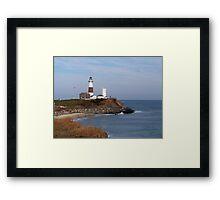 Montauk Point Lighthouse Framed Print