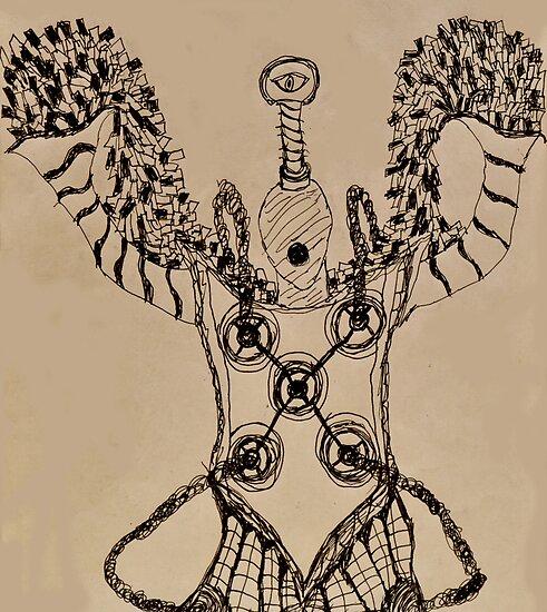 Iygigerlaxx  Arch-Golem of Idiocy by LordMasque