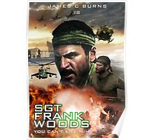 SGT Frank Woods Movie Poster [CoD: Black ops] Poster