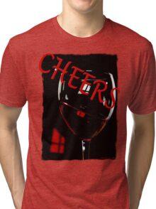 'Cheers' T-Shirt Tri-blend T-Shirt