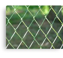 Wire-mesh Canvas Print