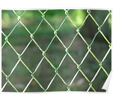 Wire-mesh Poster