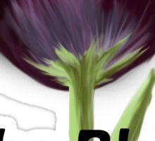 The Black Tulip Sticker