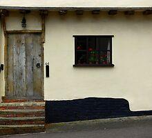 Lavenham Frontage by Carol Dawes