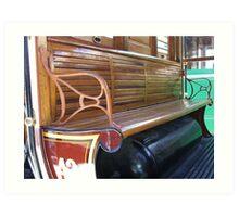 Heritage Bench Art Print