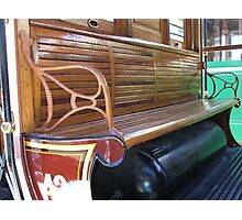 Heritage Bench Photographic Print