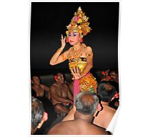 Balinese Dancers Poster