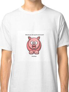 Cute Pig  Classic T-Shirt