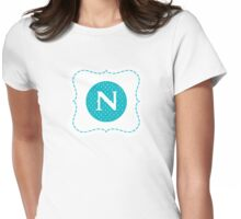 Monogram N Womens Fitted T-Shirt