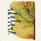 A Poem As Lovely As A Tree by Helena Bebirian