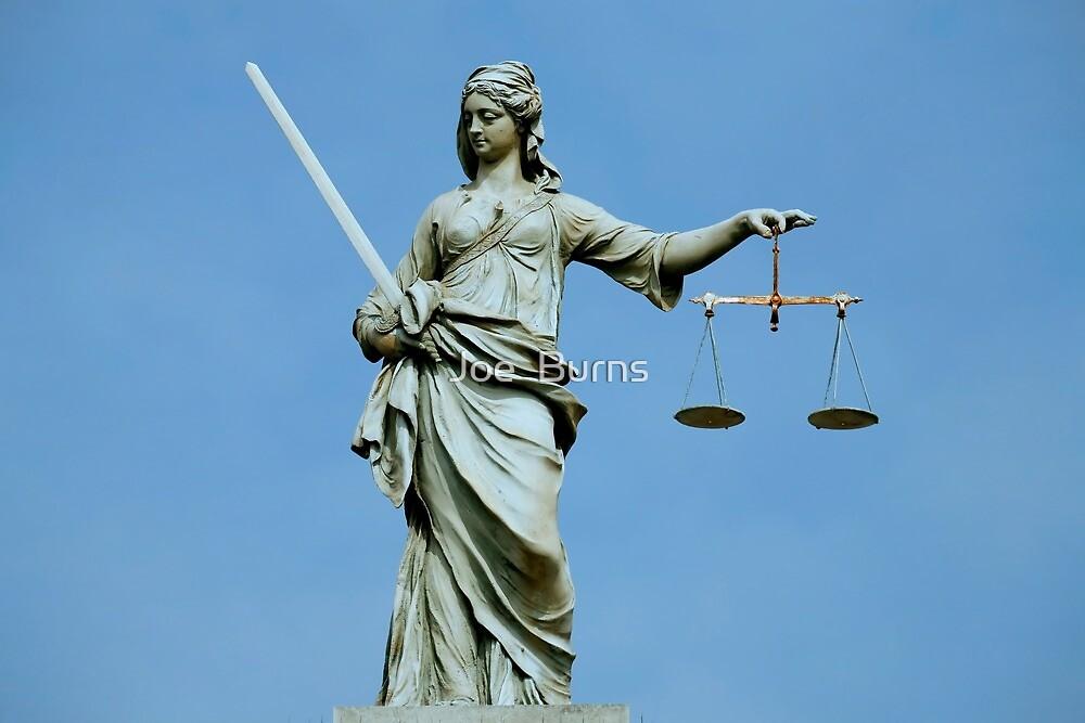 Lady Justice Dublin by Joe  Burns