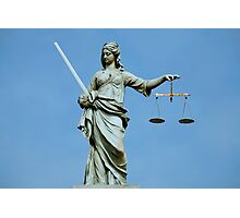 Lady Justice Dublin Photographic Print