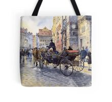 Prague Old Town Hall and Astronomical Clock Tote Bag