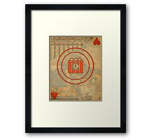 Time Bomb Framed Print