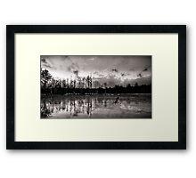 Frozen Landscape Framed Print