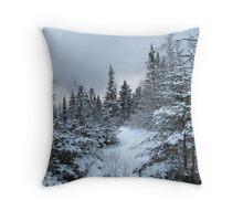 Walkin' in a Winter Wonderland Throw Pillow