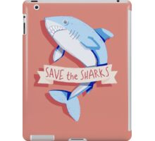 SAVE THE SHARKS iPad Case/Skin