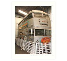 Bus 417 Art Print