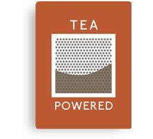 Tea Powered. Canvas Print