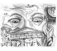 The Temple. A Sketch. 2003 Poster