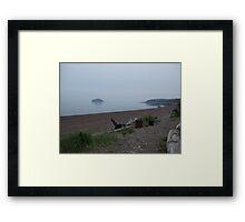 Nova Scotia Beach Framed Print