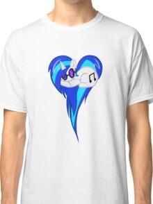 Vinyl Scratch DJ Pon3 Heart W/Glasses Classic T-Shirt