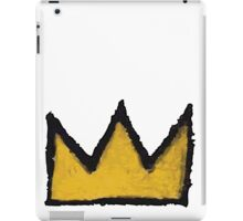 Basquiat The Crown iPad Case/Skin