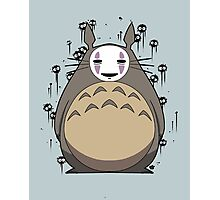 Totoro No Face Photographic Print
