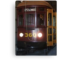 Tram 360 Canvas Print