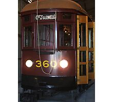 Tram 360 Photographic Print