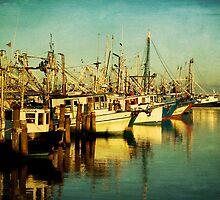 Pass Christian Harbor Boats by Jonicool