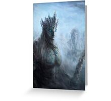 Game of thrones white walkers Greeting Card