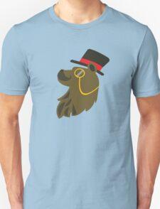 Gentleman Bear Bust T-Shirt
