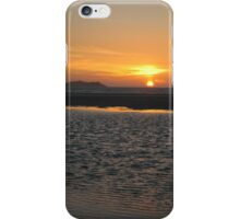 Sunset over St. Ives iPhone Case/Skin