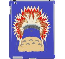 Native Totoro iPad Case/Skin