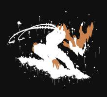 Varus Blight Crystal Ink Black T-Shirt