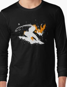 Varus Blight Crystal Ink Black Long Sleeve T-Shirt