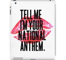 National Anthem Lips iPad Case/Skin