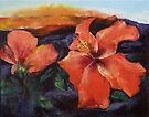 Hibiscus Volcano by Michael Creese
