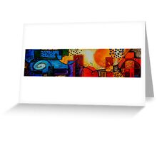The City by the Sea Greeting Card