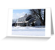 A Country Christmas! Greeting Card