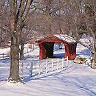 Kostoff Covered Bridge by Monnie Ryan