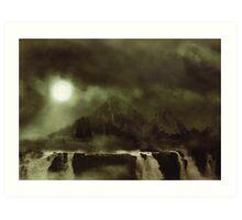 Moon Ascension Art Print